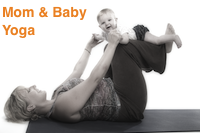 Mom and Baby Yoga